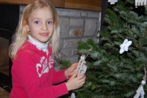 Clémence prépare Noël